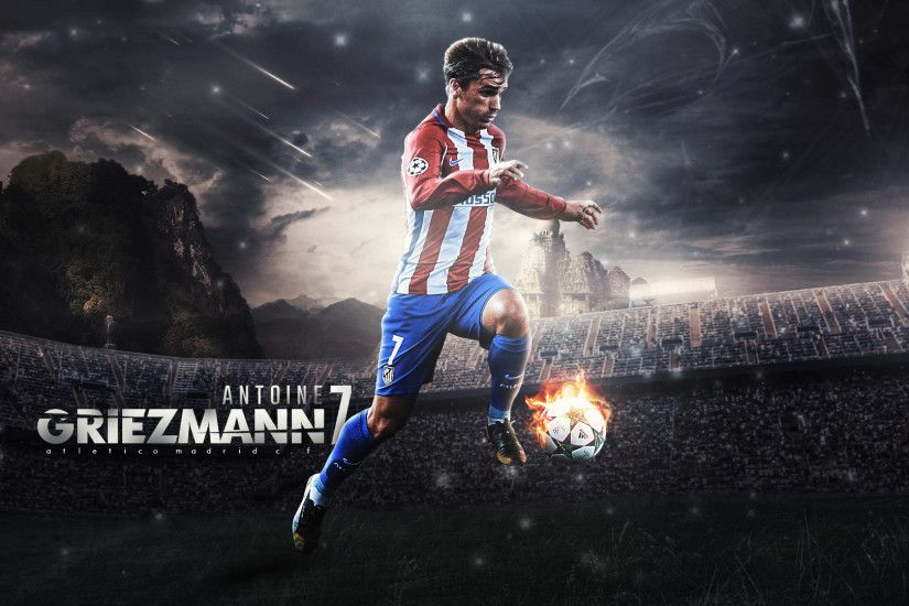 Antoine Griezmann Wallpaper 2017 by RonitGFX Antoine Griezmann Wallpaper  2017 by RonitGFX