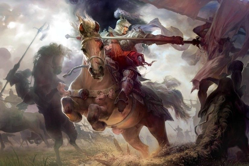 HEROES MIGHT MAGIC strategy fantasy fighting adventure action online 1hmm  warrior battle horse armor knight wallpaper | 2560x1440 | 622607 |  WallpaperUP