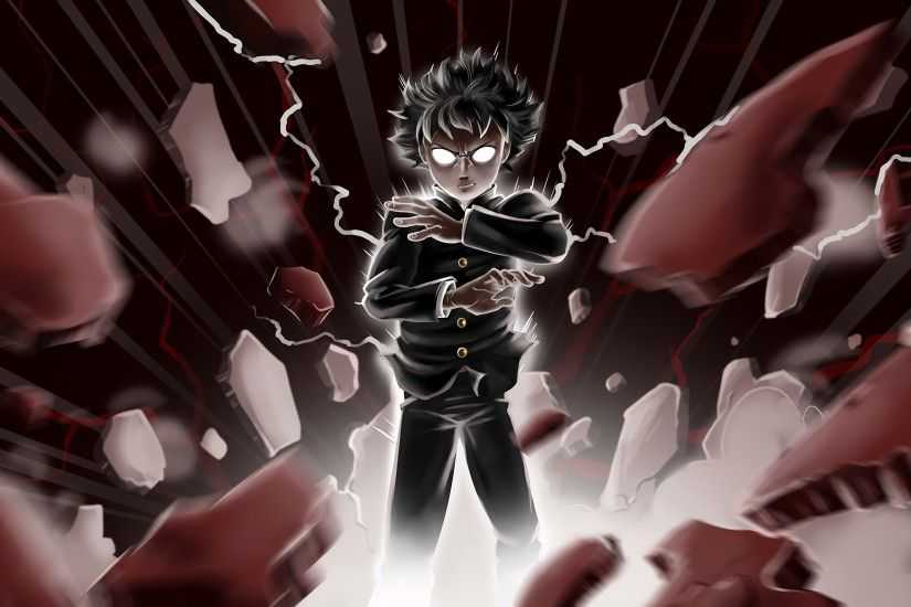 HD Widescreen Wallpapers - mob psycho 100 pic - mob psycho 100 category