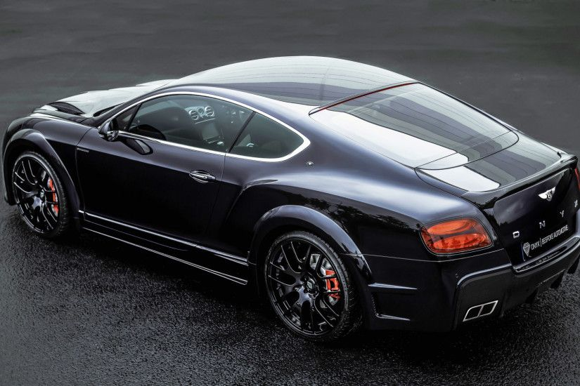 1920x1080 Wallpaper bentley, continental, gt, onyx, tuning, black