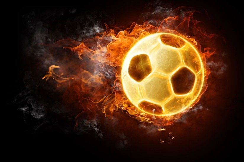 Cool Soccer Ball On Fire Hd Pictures 4 HD Wallpapers