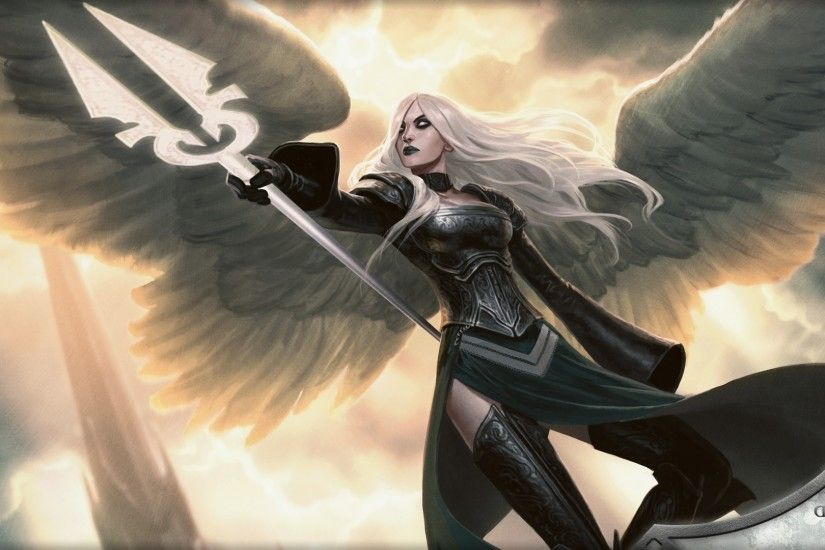 fantasy Art, Angel, Magic: The Gathering Wallpapers HD / Desktop and Mobile  Backgrounds