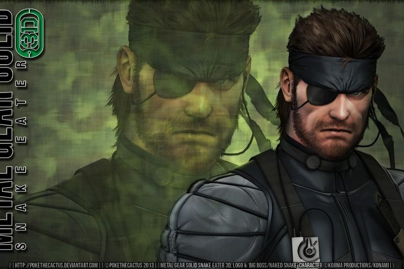 BIG BOSS |:| MGS3D HD Metal Gear Solid V The Phantom Pain Wallpaper - by  PokeTheCactus