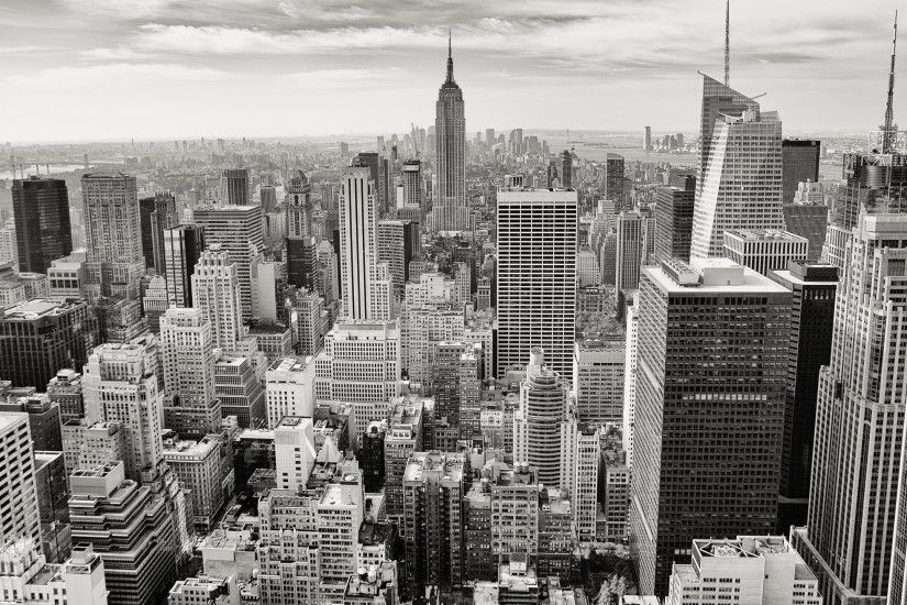 New York City Black And White wallpaper free