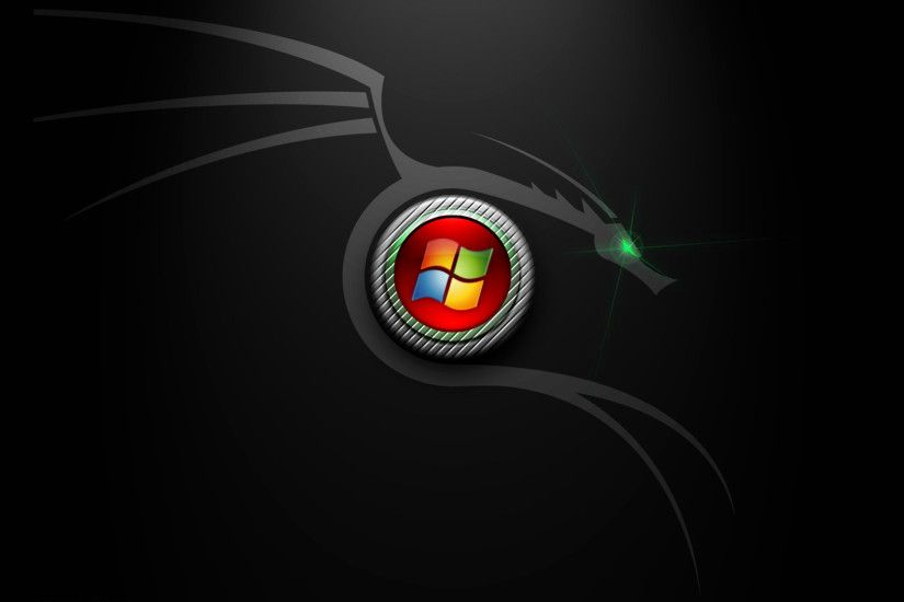Windows 7 Black Edition Hd Picture Wallpaper
