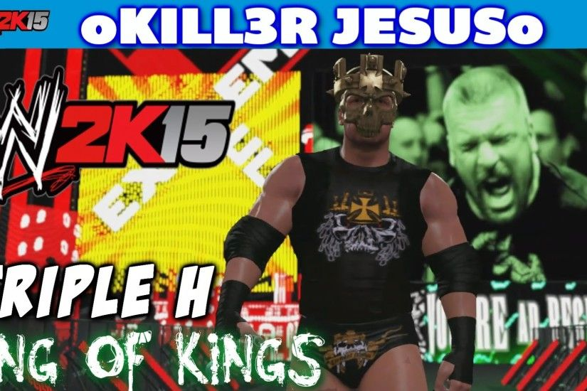 WWE 2K15 Triple H - King of Kings Skull King Mask I Community Creations PS4  XBOX ONE - YouTube