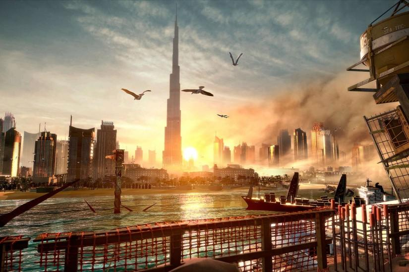 Deus Ex Mankind Divided Dubai · Deus Ex Mankind Divided Dubai Wallpaper