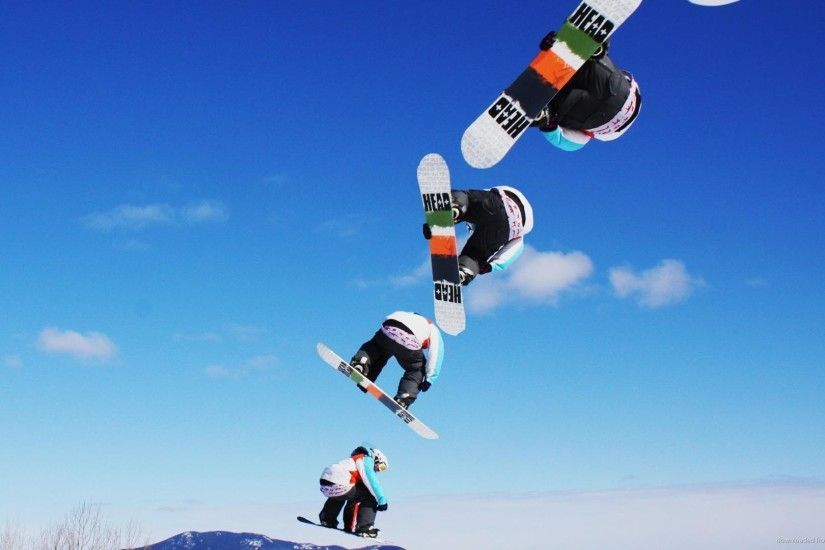 Snowboard Sequence Jump picture