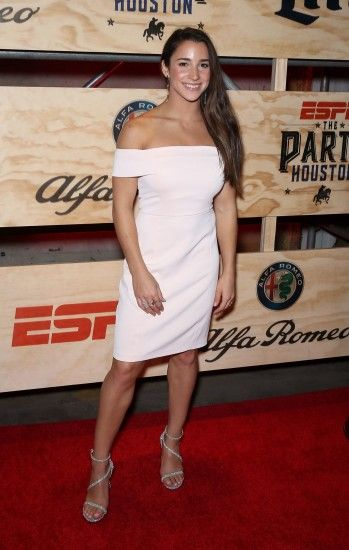 Aly Raisman – ESPN The Party in Houston 2/3/ 2017