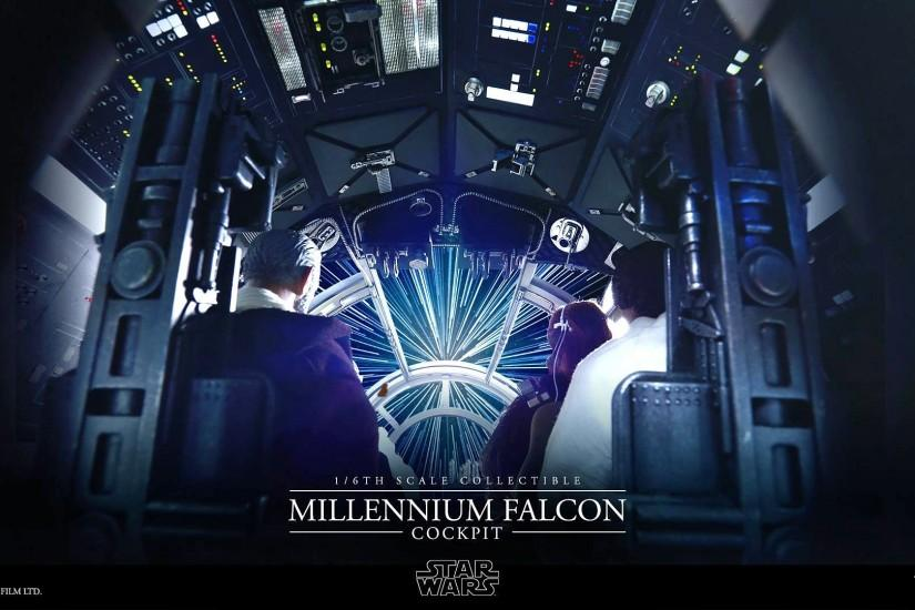 Make Some Room For a Perfect Replica of the Millennium Falcon's Cockpit