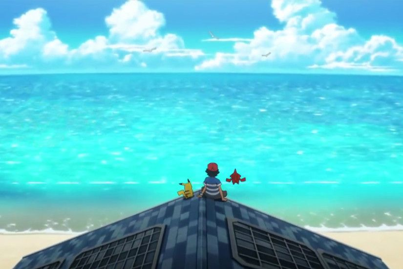 Pokémon: Sun & Moon - Anime Intro Wallpaper (1080p) (Scaled)