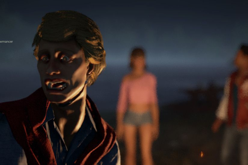 As far as visuals go, the game isn't great looking by any means. Jason  looks ok, but the Counselors are cartoony and look made of plastic.