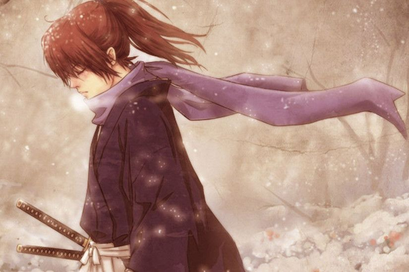 Kenshin and Tomoe's scarf
