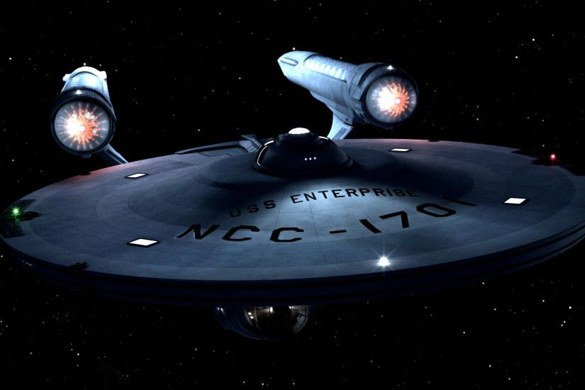 The-Consitiution-class-Enterprise-from-the-original-Star-