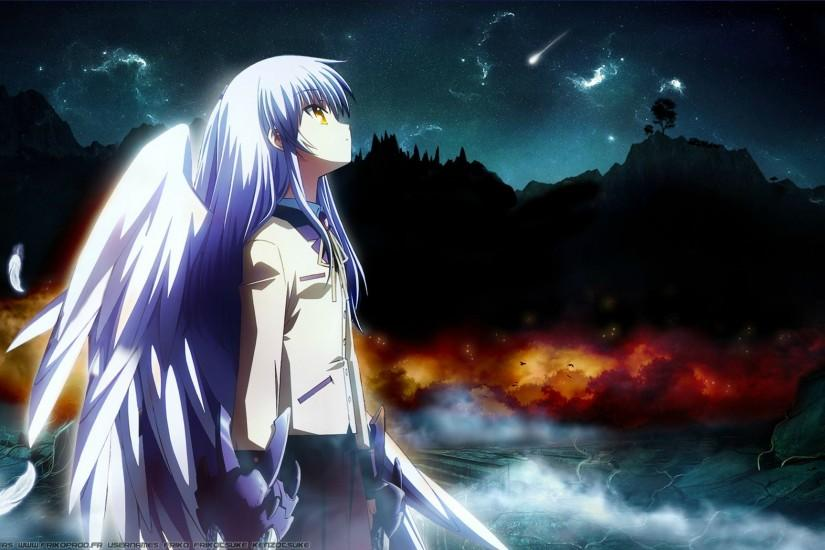 angel beats wallpaper 2048x1152 for mobile