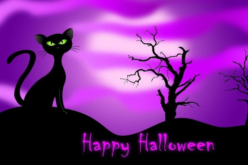 Full Size of Halloween: Halloween Cat Wallpapers Wallpaper Cave Image Ideas  Wc5rc4n Pictures To Color ...