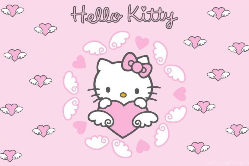 Photos Hello Kitty With Bow Cute Wallpapers