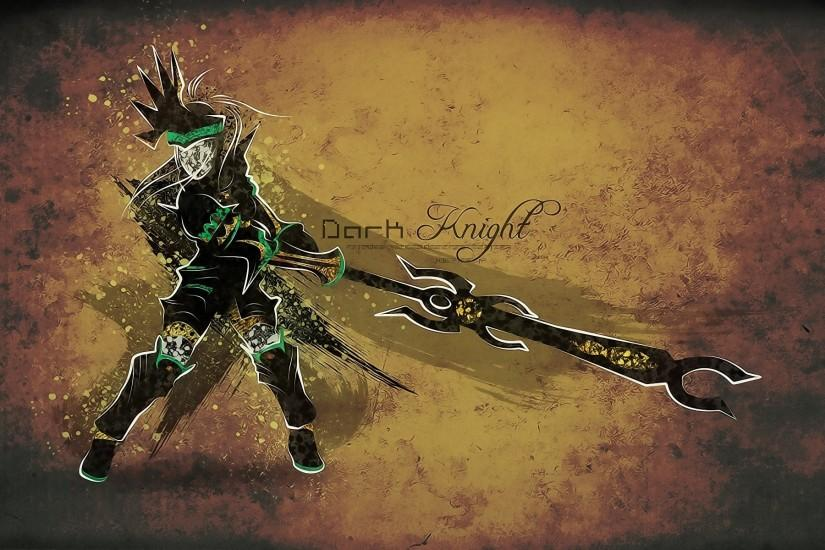 Artwork Dark Final Fantasy X-2 Knights Rikku Swords Video Games Wallpaper