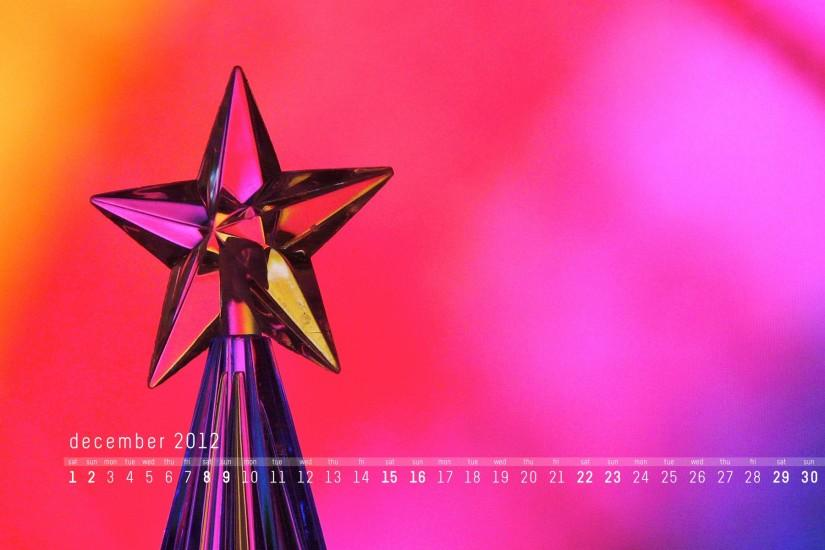 December 2012 calendar desktop wallpaper | davehornsby
