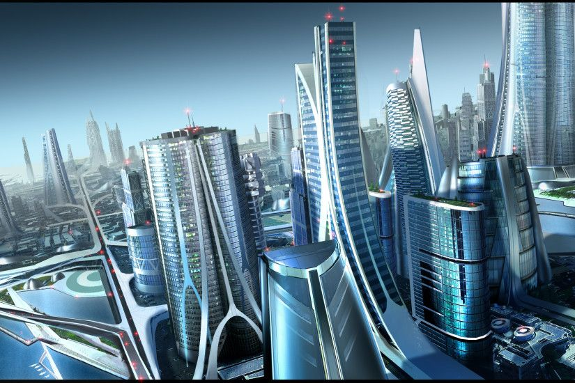 These Futuristic City Wallpapers Will Take Your Breath Away | Future city,  Deviant art and Futuristic city