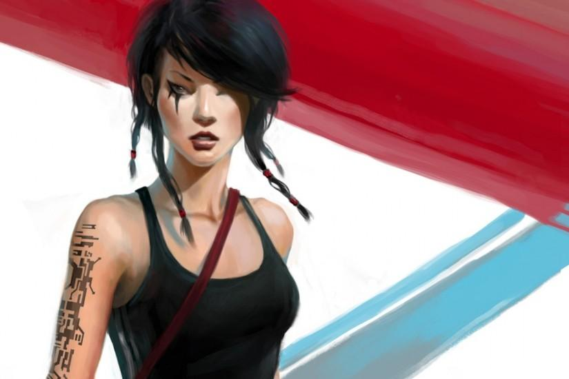 Wallpaper from Mirror's Edge
