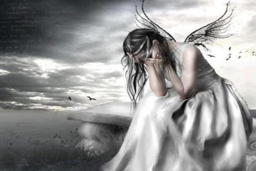 Crying Fairy Wallpaper - MixHD wallpapers