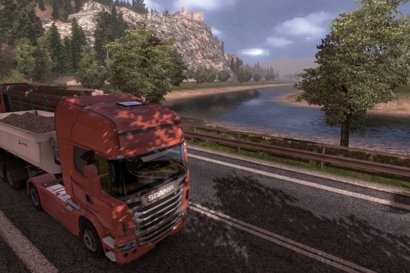 ... Euro Truck Simulator 2 - Going East (DLC) ...