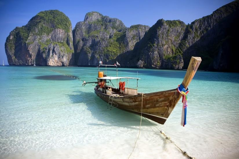 Phi Phi Island Beach Wallpapers Pictures Photos Images. Â«