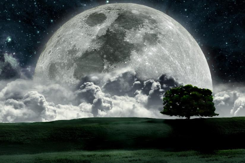 top moon background 1920x1080 windows