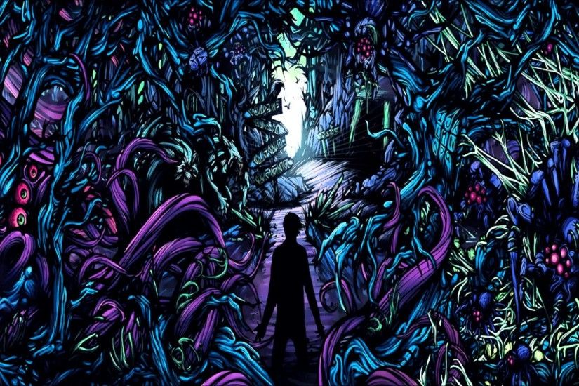 Also did artwork for A Day To Remember's album 'Homesick', ...