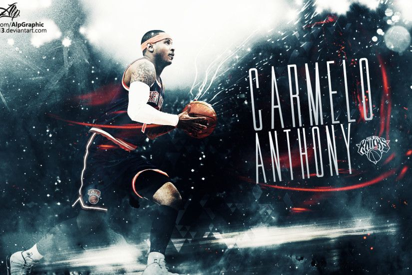 CARMELO ANTHONY Wallpaper by AlpGraphic13 CARMELO ANTHONY Wallpaper by  AlpGraphic13