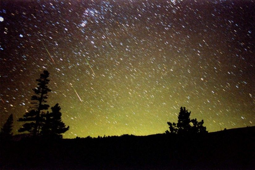 Real Meteor Shower