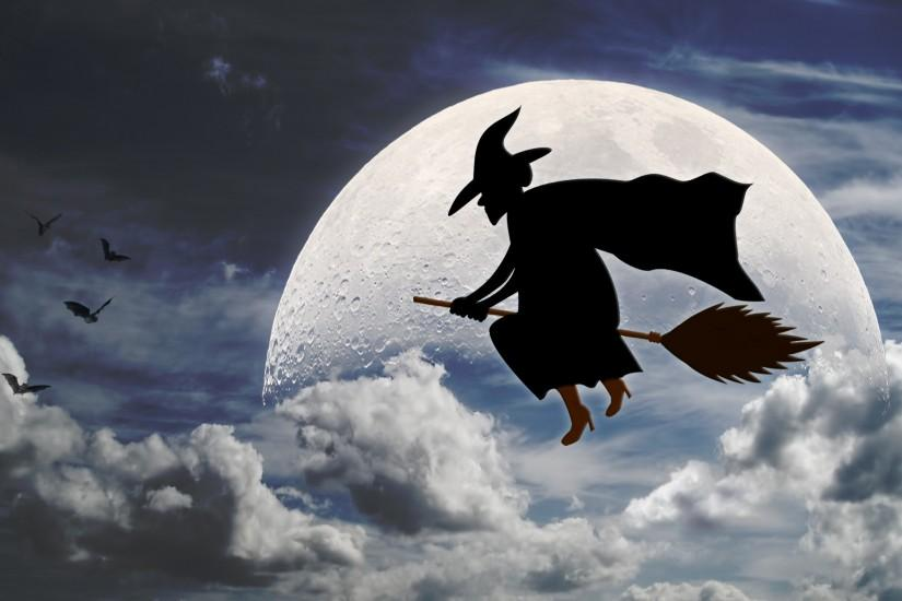 Halloween-Broom-Stick-Witch-HD-Wallpaper