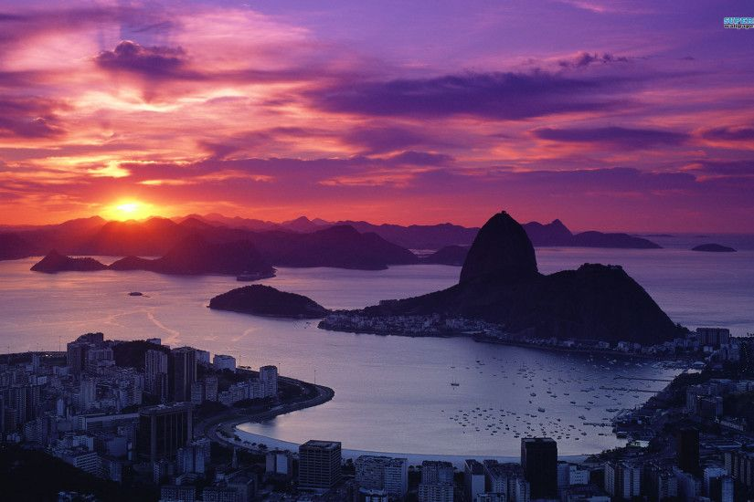 Download Rio De Janeiro Wallpaper Widescreen HD Full Size