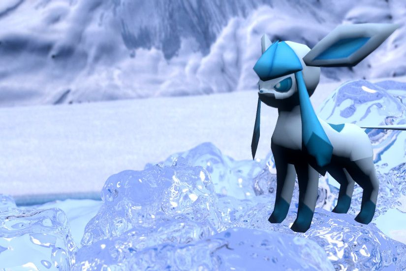 HD image of the Glaceon 3D Model available at ROEStudios.co.uk