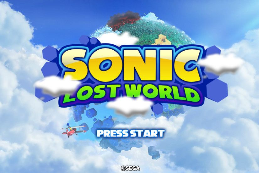 ... Sonic Lost World - MarkProductions' Title Screen by Mauritaly