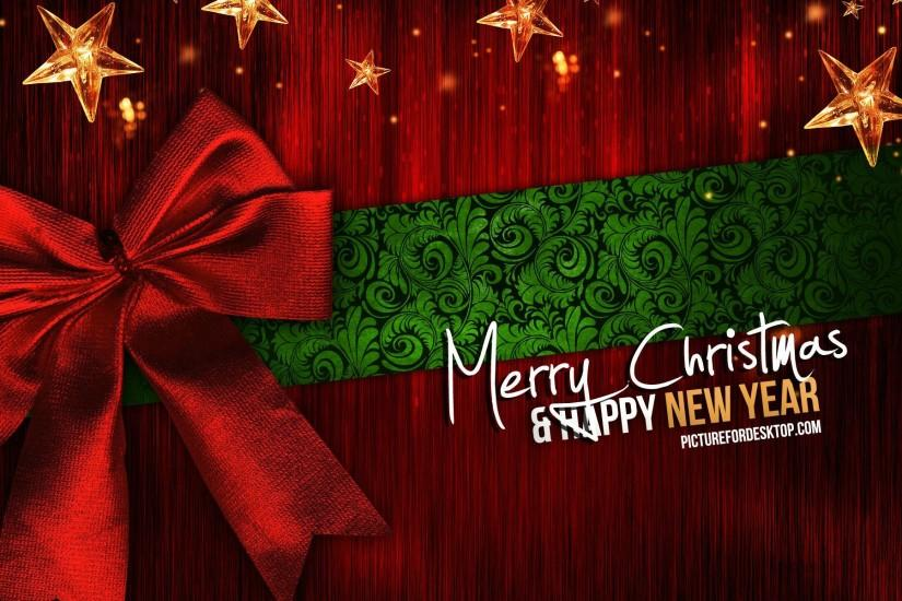 Merry Christmas and Happy New Year! widescreen wallpaper | Wide