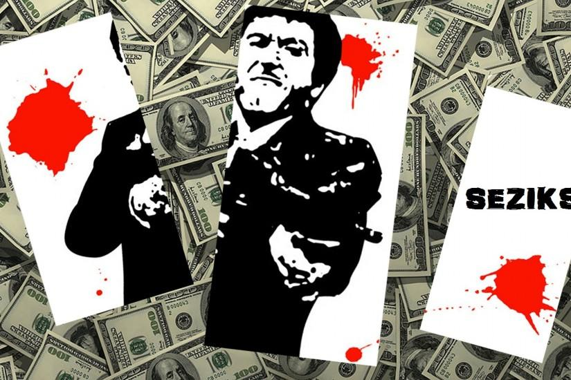 Seziks Scarface Wallpaper by MrMustachi0 Seziks Scarface Wallpaper by  MrMustachi0