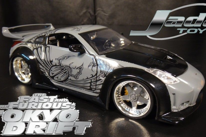 The Fast and The Furious Tokyo Drift DK's Nissan 350Z - Jada Toys Unboxing  - YouTube