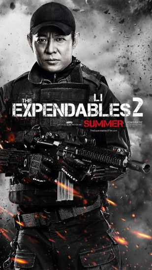 Jet Li The expendables 2