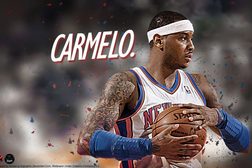 New Carmelo Anthony wallpaper... Source: http://www .