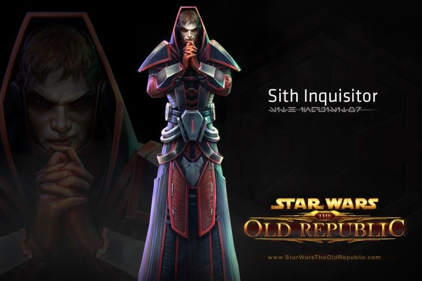 Preview wallpaper star wars the old republic, sith inquisitor, character,  costume 1920x1080