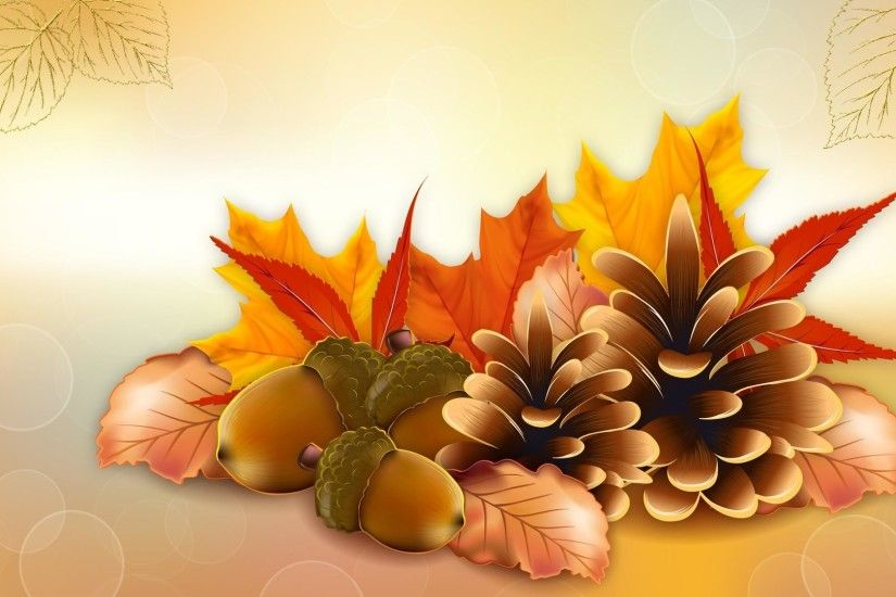Thanksgiving Fall Vector Hd Wallpaper | Wallpaper List