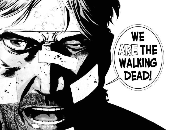 Walking Dead Comic Rick