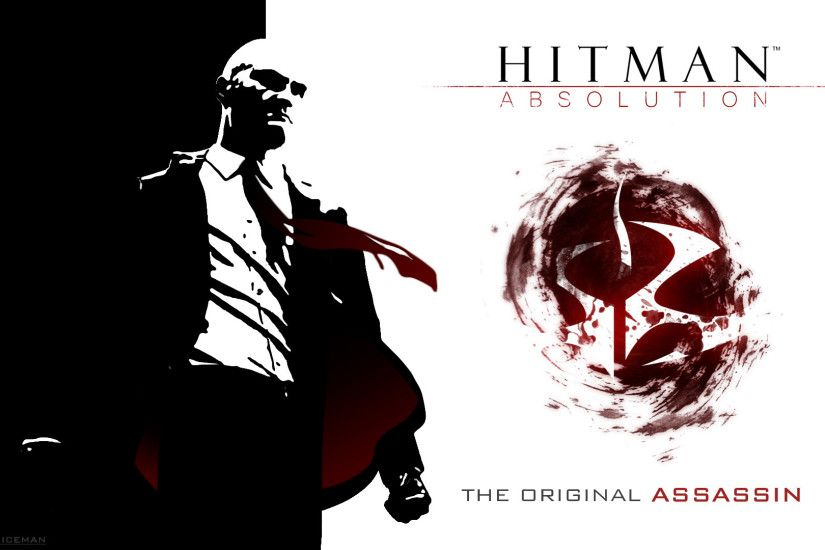 ... Hitman Absolution Wallpaper - Agent 47 (Full HD) by TheIcemanPL
