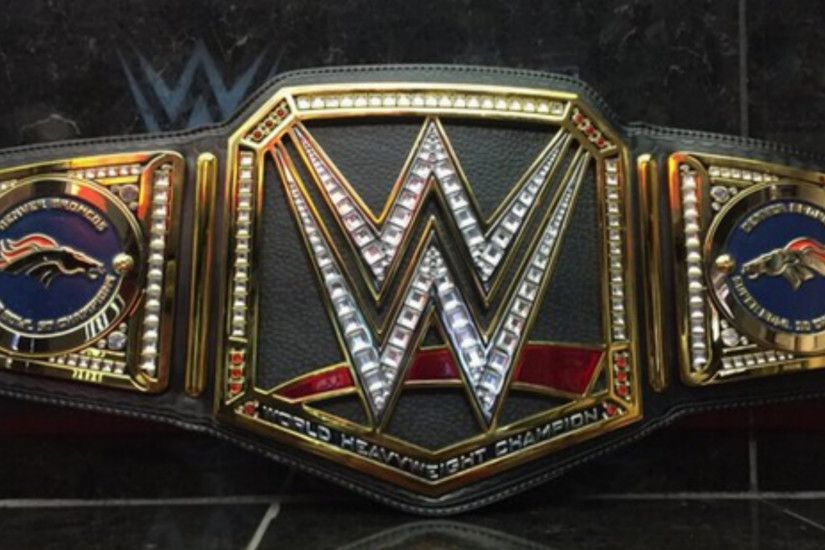 Triple H To Send Broncos Custom Wwe Chionship Belt Nfl Sporting News