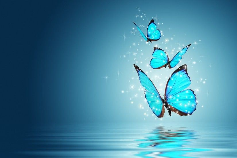 mood butterfly butterfly magic magic butterfly background blue wallpaper  widescreen full screen widescreen hd wallpapers background