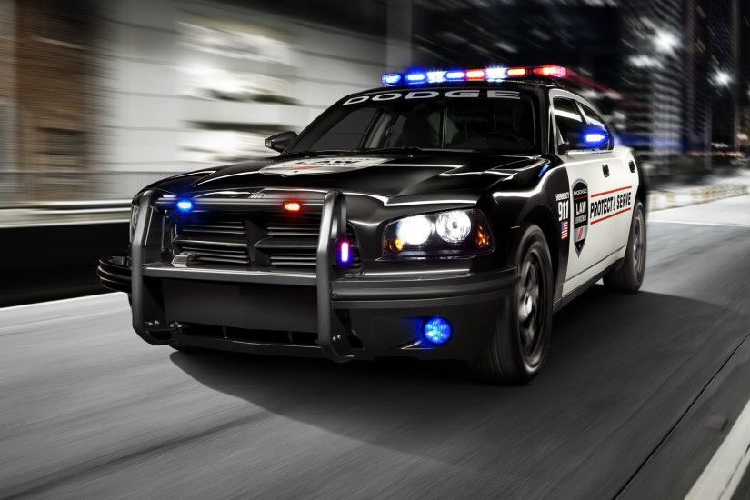 Police Car Background ...
