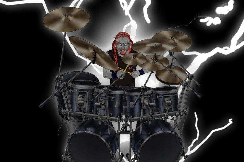 Rock Band Drummer Cartoon | ... music cartoons hard rock band groups  metalocalypse drums