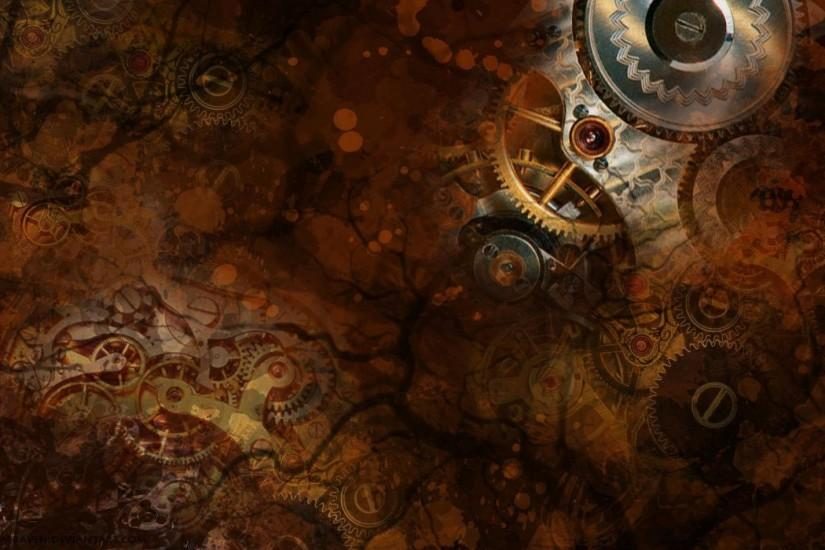 most popular steampunk background 1920x1200 for mac